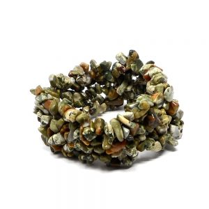 Rhyolite Five Strand Chip Bracelet All Crystal Jewelry bracelet