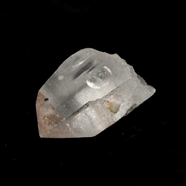 Rose Lemurian Quartz Point All Raw Crystals lemurian