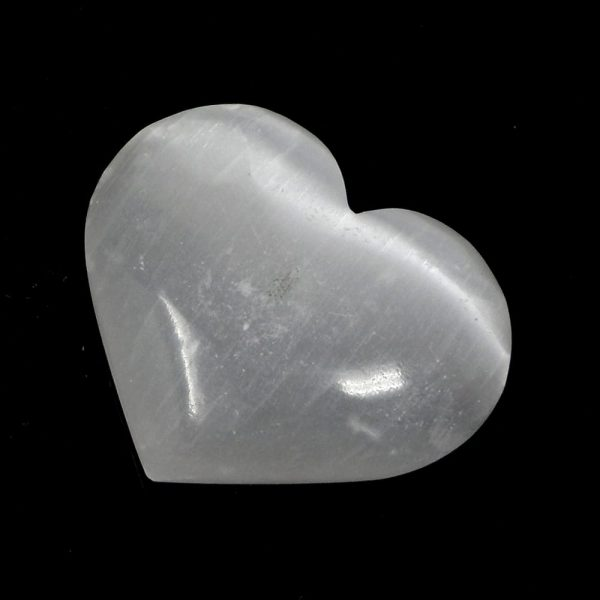 Selenite Heart All Polished Crystals crystal heart