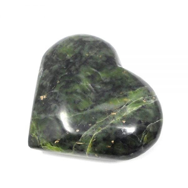 Serpentine Heart All Polished Crystals crystal heart