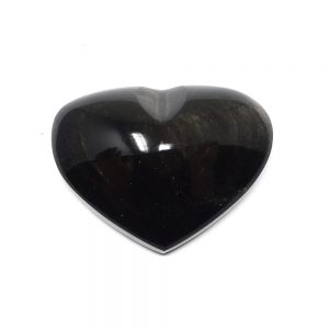 Sheen Obsidian Heart Polished Crystals crystal heart