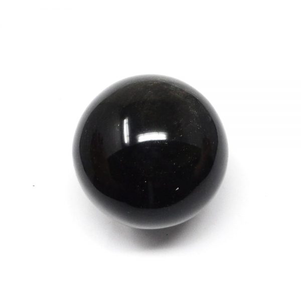 Goldsheen Obsidian Sphere All Polished Crystals crystal sphere