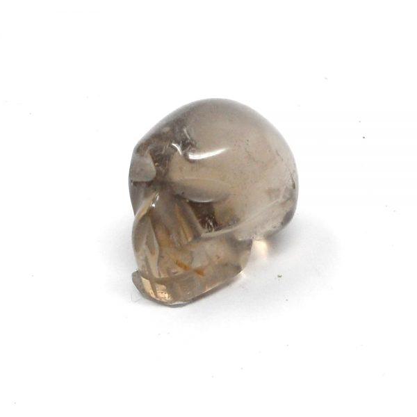 Smoky Quartz Mini Skull All Polished Crystals crystal skull