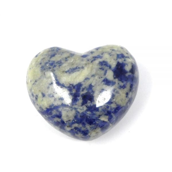 Sodalite Heart All Polished Crystals crystal heart