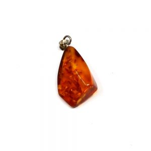 Baltic Amber Pendant Crystal Jewelry amber
