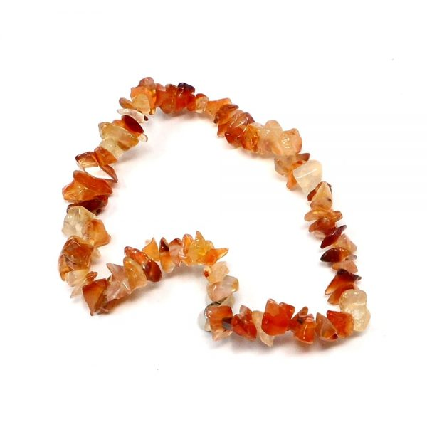 Carnelian Chip Anklet All Crystal Jewelry anklet