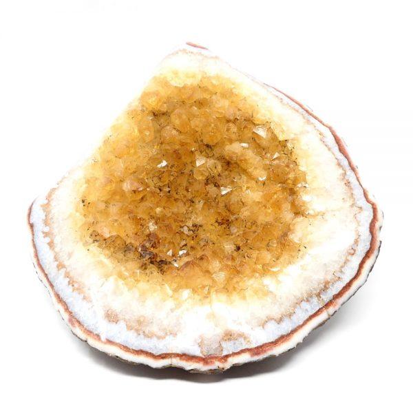 Citrine Geode All Raw Crystals Citrine