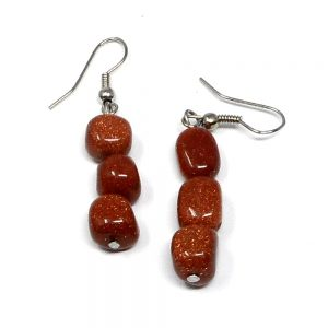Goldstone Earrings All Crystal Jewelry crystal earrings