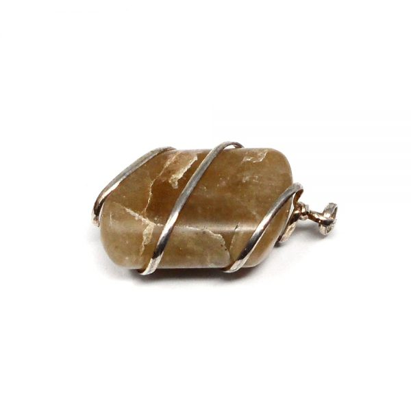 Honey Calcite Pendant All Crystal Jewelry calcite