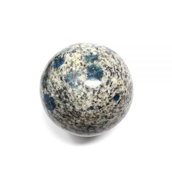 K2 (Azurite in Granite) Sphere 42mm All Polished Crystals azurite