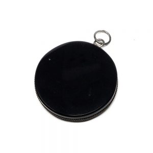 Obsidian Pendant All Crystal Jewelry black obsidian