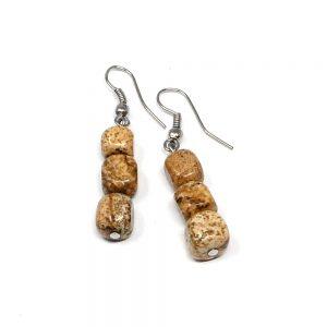 Picture Jasper Earrings All Crystal Jewelry crystal earrings