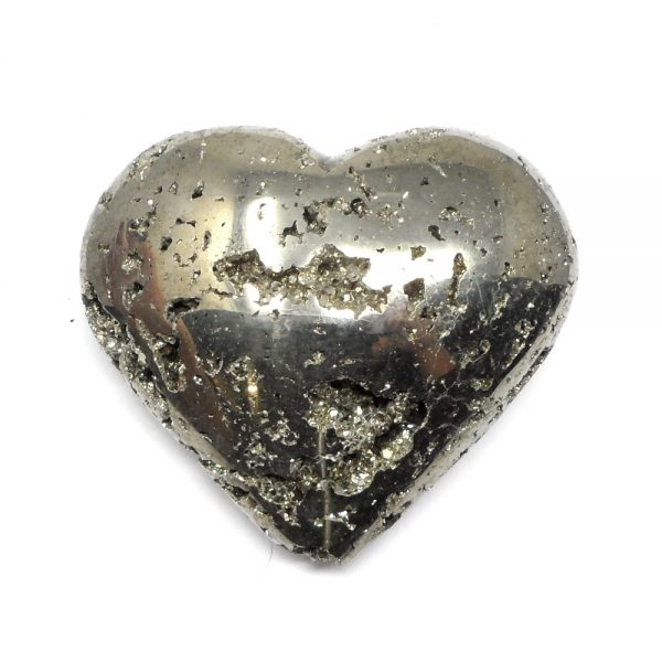 Pyrite Crystal Heart All Polished Crystals crystal heart