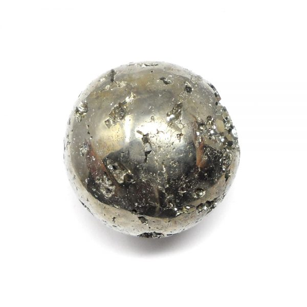 Pyrite Sphere 55mm All Polished Crystals crystal sphere