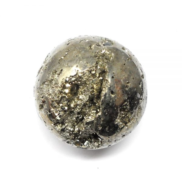 Pyrite Sphere 60mm All Polished Crystals crystal sphere