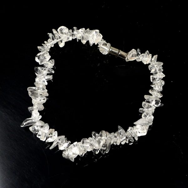 Clear Quartz Anklet All Crystal Jewelry anklet
