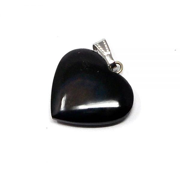 Rainbow Obsidian Heart Pendant All Crystal Jewelry crystal pendant