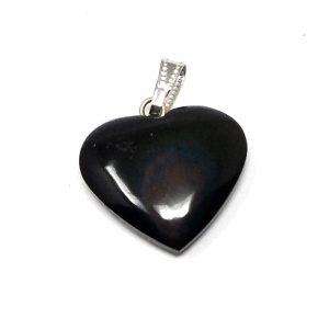 Rainbow Obsidian Heart Pendant All Crystal Jewelry crystal pendant