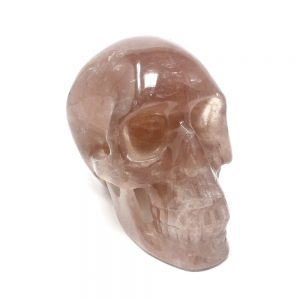 Rose Quartz Skull XL All Polished Crystals crystal skull