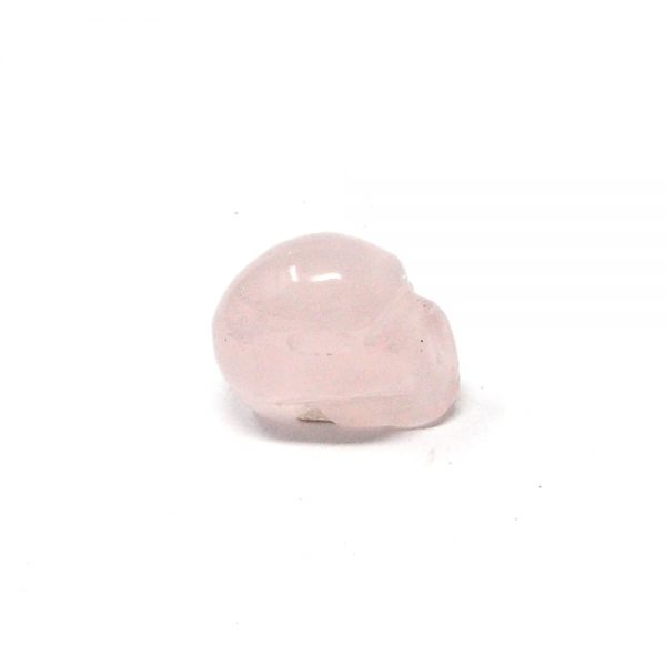 Rose Quartz Mini Skull All Polished Crystals crystal mini skull