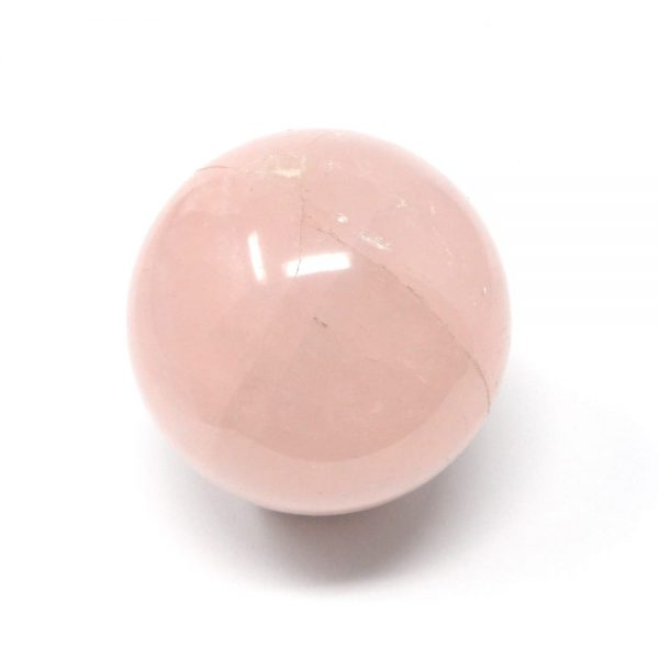 Rose Quartz Sphere 50mm All Polished Crystals crystal sphere