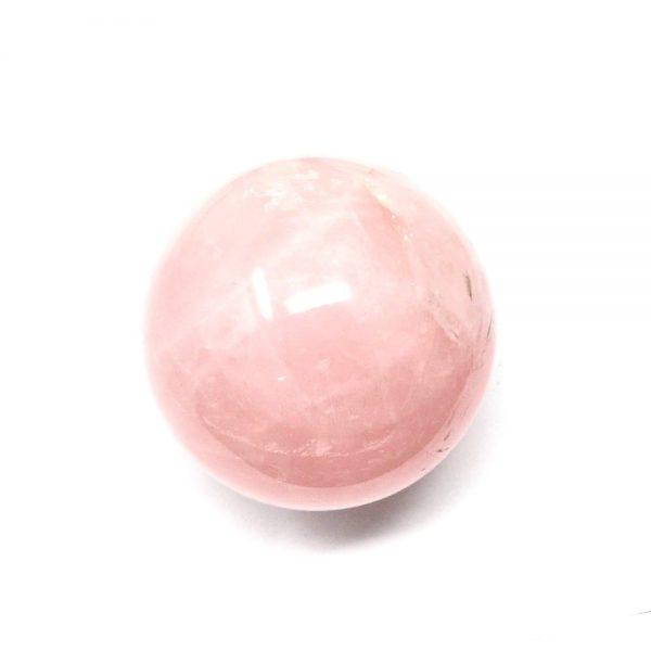 Rose Quartz Sphere 60mm All Polished Crystals crystal sphere