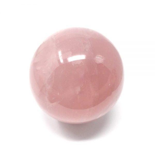 Rose Quartz Sphere 70mm All Polished Crystals crystal sphere