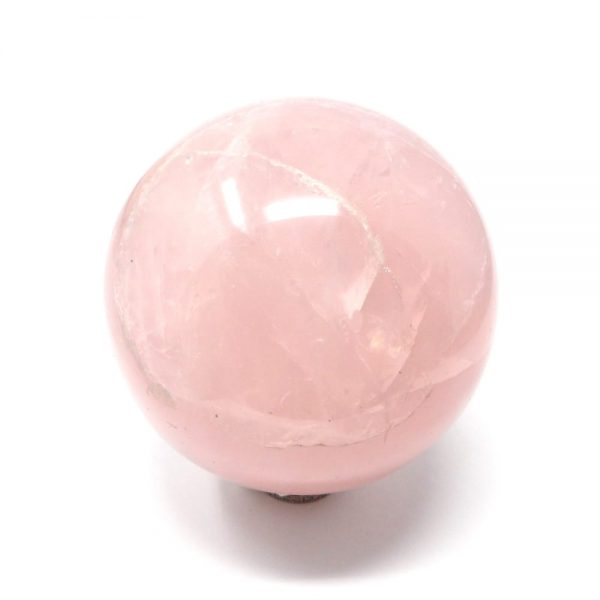 Rose Quartz Sphere 70mm All Polished Crystals crystal sphere