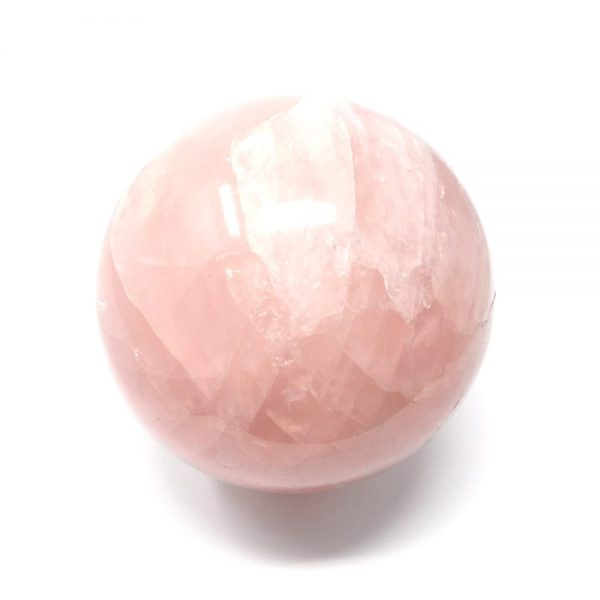 Rose Quartz Sphere 80mm All Polished Crystals crystal sphere