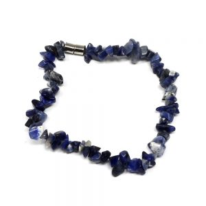 Sodalite Chip Anklet All Crystal Jewelry anklet