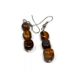 Tiger Eye Earrings All Crystal Jewelry crystal earrings