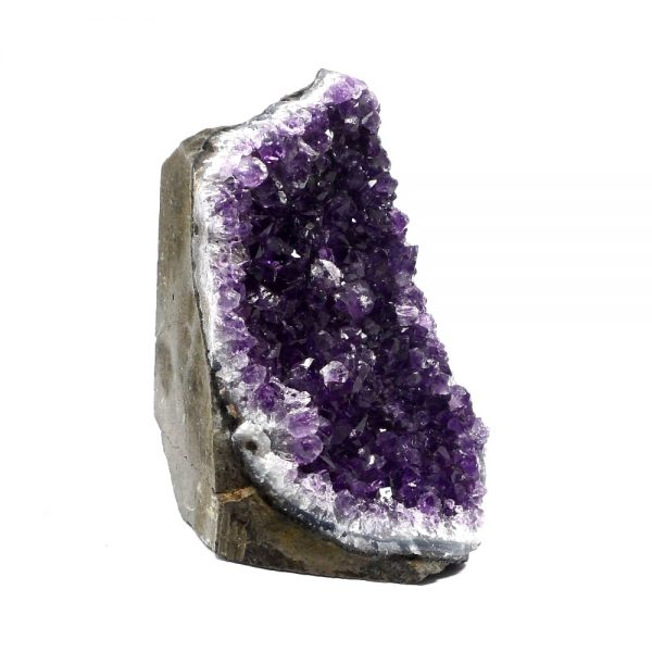 Amethyst Cluster with Cut Base All Raw Crystals amethyst