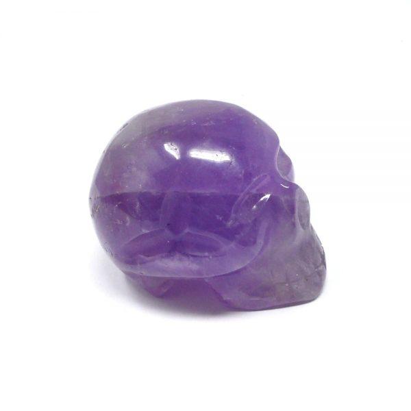 Ametrine Crystal Skull All Polished Crystals amethyst citrine skull