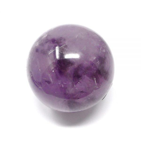 Amethyst Sphere 75mm All Polished Crystals amethyst
