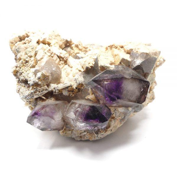 Brandberg Quartz and Amethyst All Raw Crystals amethyst