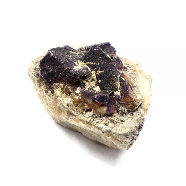 Brandberg Fluorite Cluster All Raw Crystals brandberg