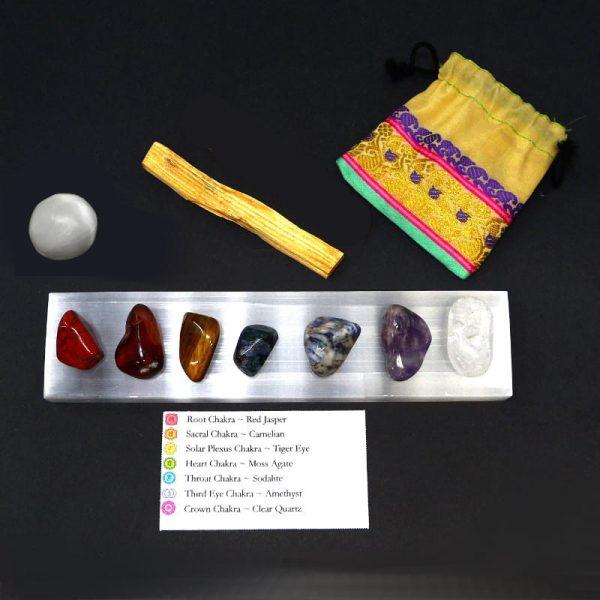 Chakra Stone Set All Specialty Items amethyst