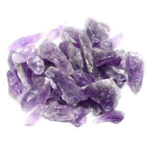 Amethyst Pieces 1-4cm 16oz All Raw Crystals amethyst