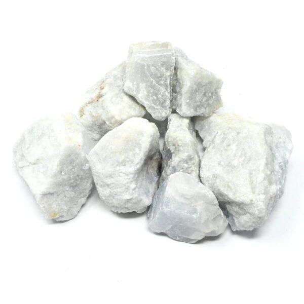 Raw Blue Calcite 16oz All Raw Crystals blue calcite