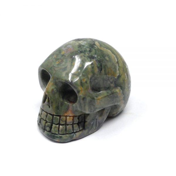 Rhyolite Jasper Skull All Polished Crystals jasper skull