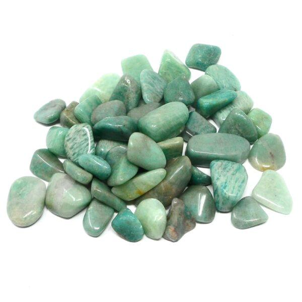 Amazonite tumbled sm/md 8oz All Tumbled Stones amazonite
