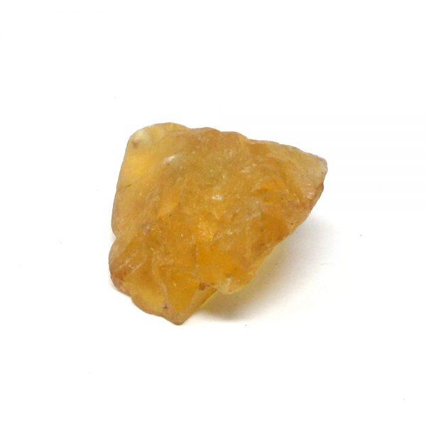 Yellow Fluorite Specimen All Raw Crystals fluorite