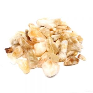 Commercial Citrine 16oz All Raw Crystals bulk citrine points