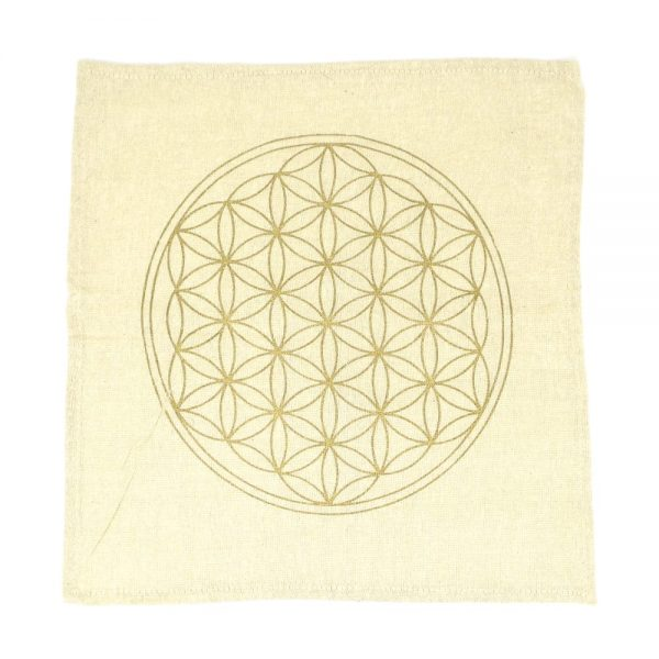 Flower of Life Grid Cloth Accessories beige grid cloth