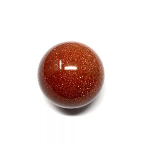 Goldstone Sphere 40mm Polished Crystals goldstone