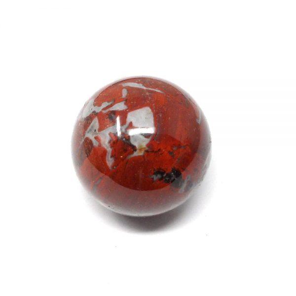 Brecciated Jasper Sphere 40mm All Polished Crystals brecciated jasper