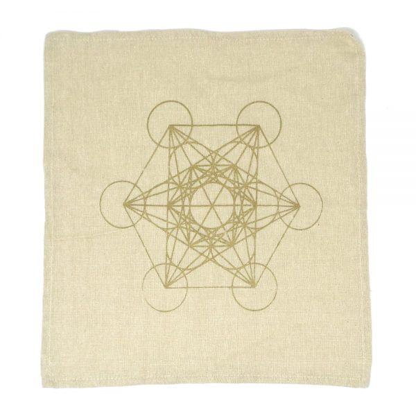 Metatron's Cube Grid Cloth Accessories anahata