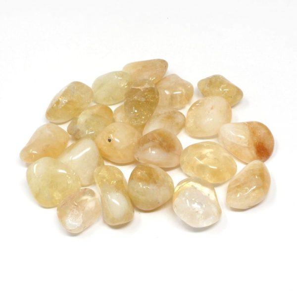 Citrine xq md 8oz tumbled All Tumbled Stones bulk citrine