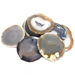Agate Slabs, Natural, pack of 10 size 2 Agate Products agate