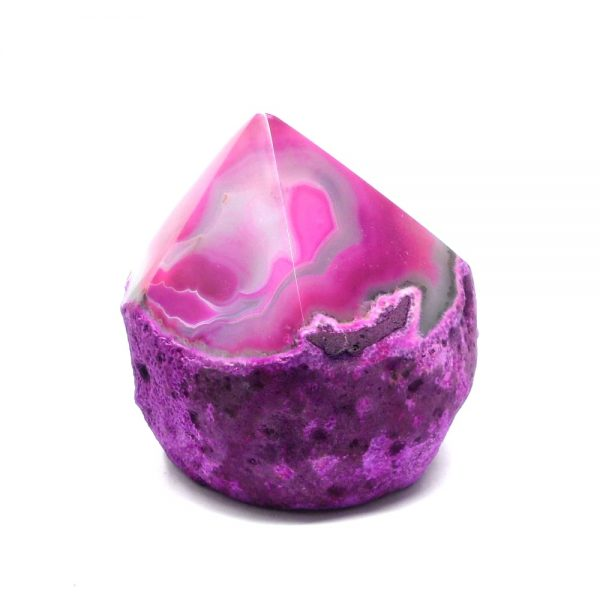Pink Agate Crystal Point Agate Products agate